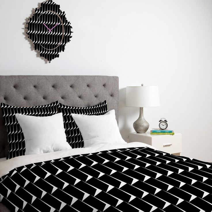 Gabriela Fuente The Minimalist Duvet Cover | DENY Designs Home Accessories