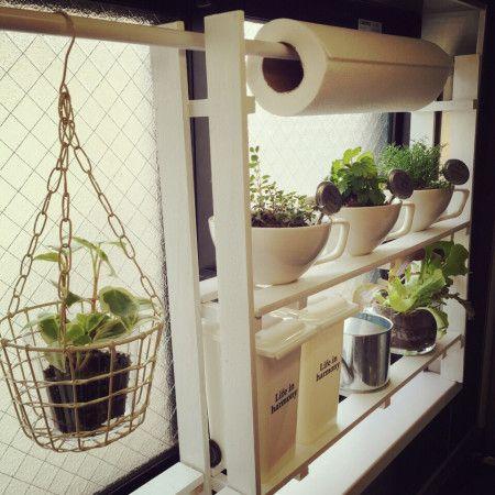 キッチン収納が足りないなら!使えるキッチン棚をDIY