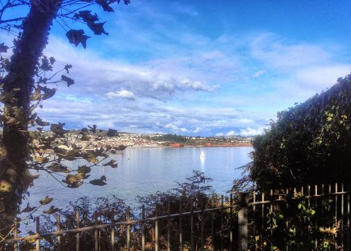 As it's a grey, rainy morning in Torquay, I thought I'd post a reminder of sunnier times ... Torbay, north from Roundham Head  Location 50.431, -3.555…  -  Paul Hutchinson - Google+
