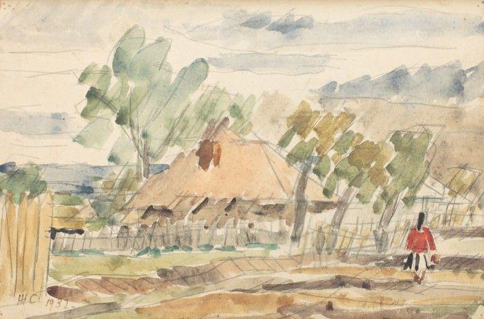 Henri H. Catargi, Peisaj pe Valea Argeşului