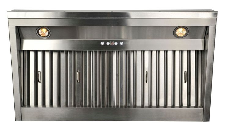 "Cavaliere-Euro AP238-PS19IL-40 42"" Stainless Steel Range Hood Insert with 1000 C Stainless Steel Range Hood Insert"
