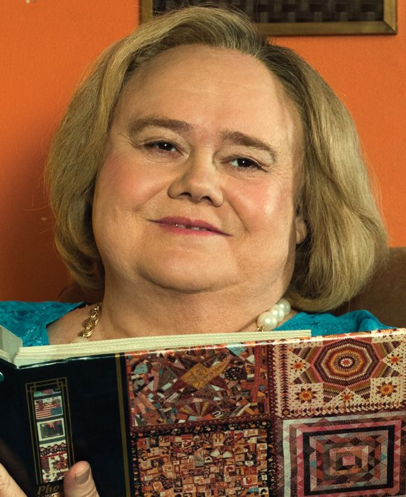 Louie Anderson. Christine Baskets