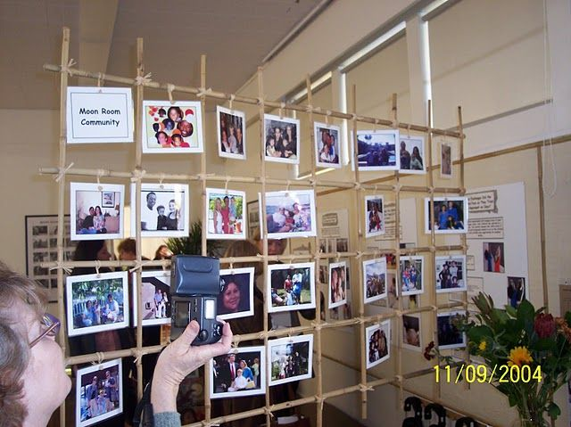 An interesting idea for the classroom, lets them show off their favorite family pictures.