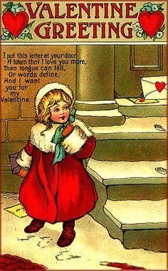 Public Domain Vintage Valentine Images   Google Search