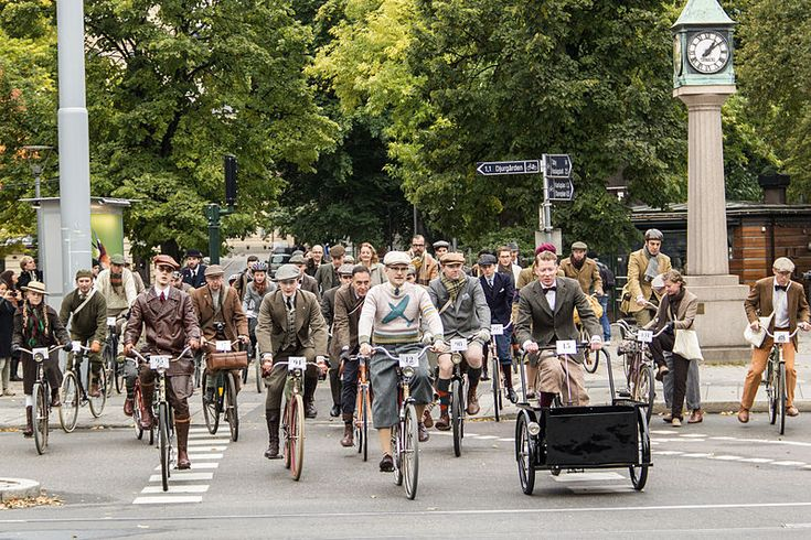 Join in with the Tweed Run bicycle jaunt around London this May 6th! http://bit.ly/tweed-run-2017