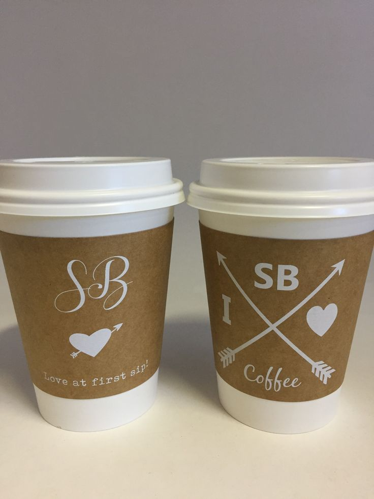 WE LOOOOVE COFFEE here at In The Box! Customized coffee cup sleeves done for a great customer of ours. We love how simple, yet effective, these are. Not sure whats making our day happier - the coffee inside or the sleeve outside?