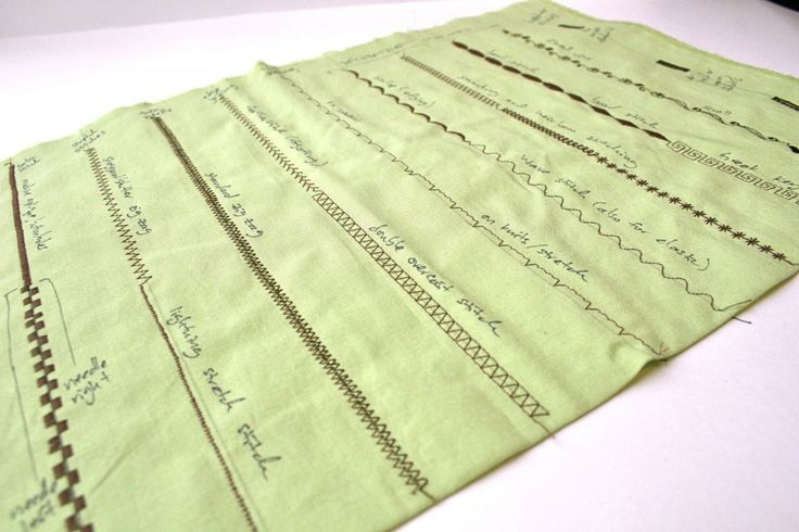 what each stitch does, good to know