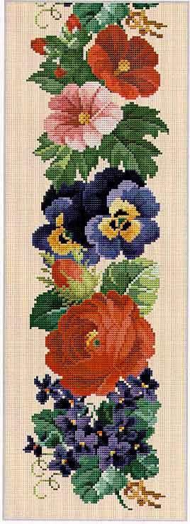 Berlin work - counted stitch