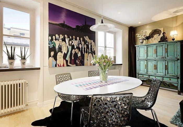 Стокгольмская квартира в 52 м² – Красивые квартиры