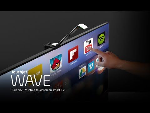 Finger Swipe Your TV with the Touchjet WAVE - TechPicks