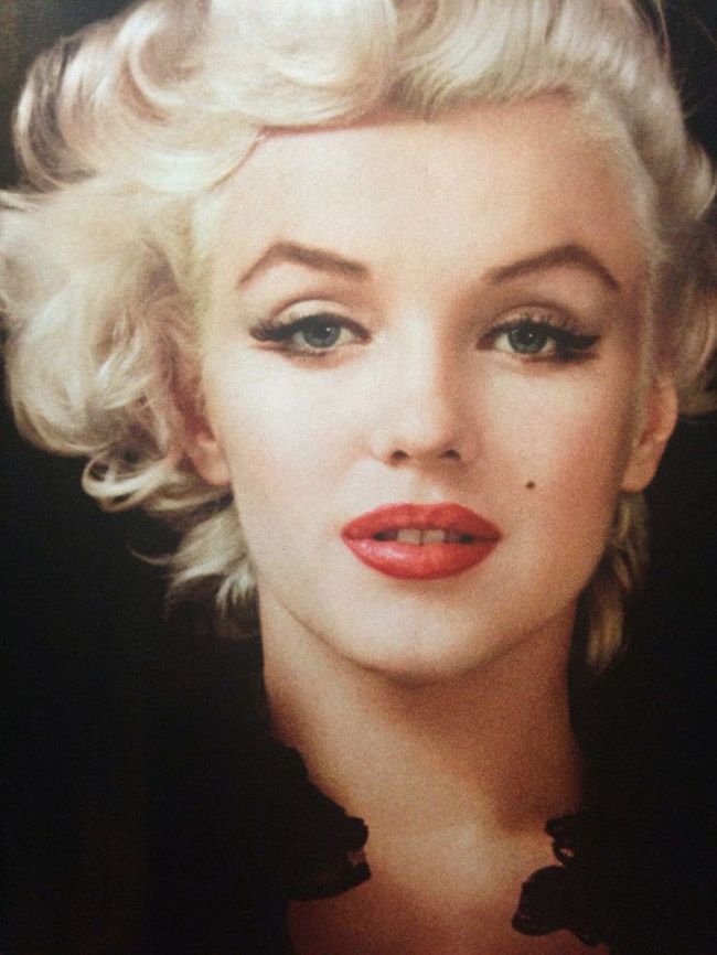 monroe makeup 50s