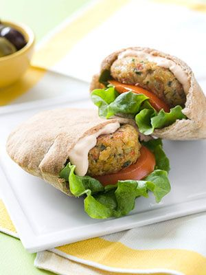 Moroccan White-Bean Sliders from redbook