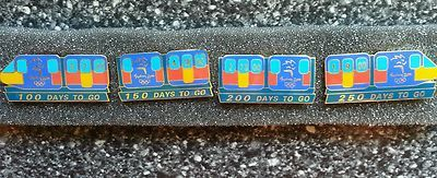 Sydney 2000 Olympic Games Monorail Pin Set