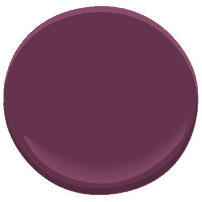 grape juice  2074-10  As concentrated as its namesake, this deep shade of purple is intense and engaging. It has a generous amount of black to cut its sugary sweetness.