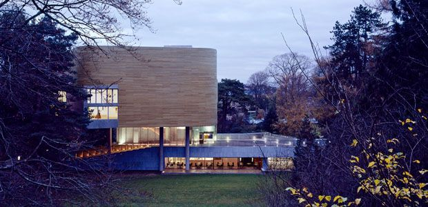 Lewis Glucksman Gallery, Cork // It is inside the University College Cork campus. The building is remarkable, can't wait to visit it on april!