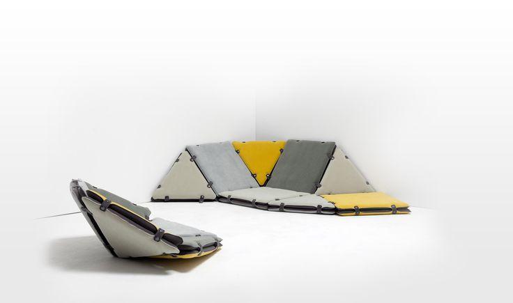 playful Tipi modular furniture