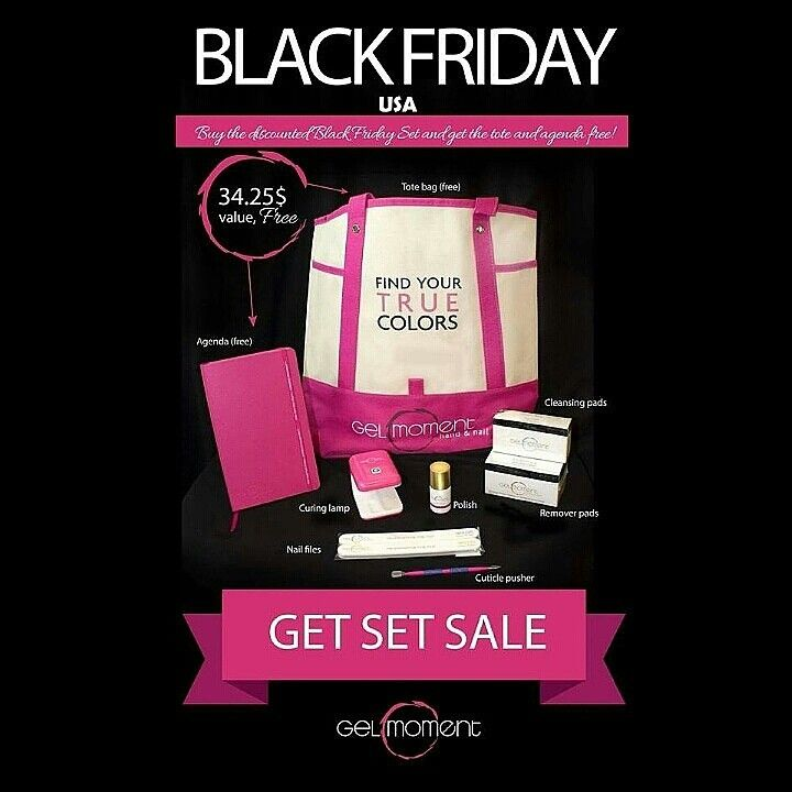 Looking for FABULOUS #veganbeautyproducts?   Guess what's looking #prettyinpink!  GelMoment's Black Friday Sale, that's what!      * 1 GelMoment Lamp (Chose your own color) * 1 Gel Polish (Choose your own color) * 1 Gel Remover Pack of 100 * 1 Cleanser Pack of 50 *1 Set of 2 Nail Files * 1 GelMoment Cuticle  ________________Visit my website: www.soulfulnails.gelmoment.com    Purchase OUR BEAUTIFUL STARTER KIT, and you will receive FOR FREE: 1 GelMoment Tote Bag, 1 GelMoment 2016…