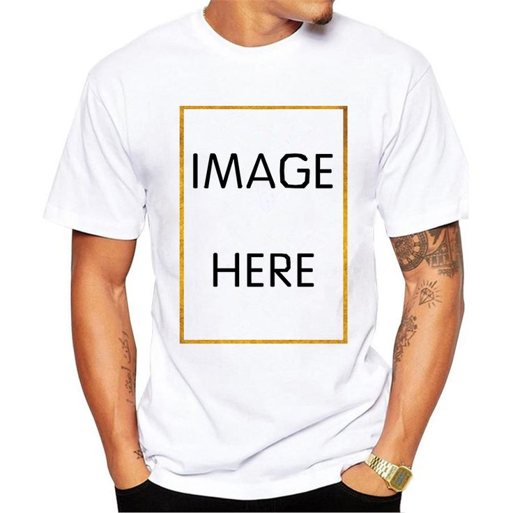 ==> [Free Shipping] Buy Best Your Own Design T-Shirt Men Casual Personality Custom Pattern Tee Shirt Clear Digital Printing Funny T Shirt Male Hipster Tops Online with LOWEST Price | 32813945697
