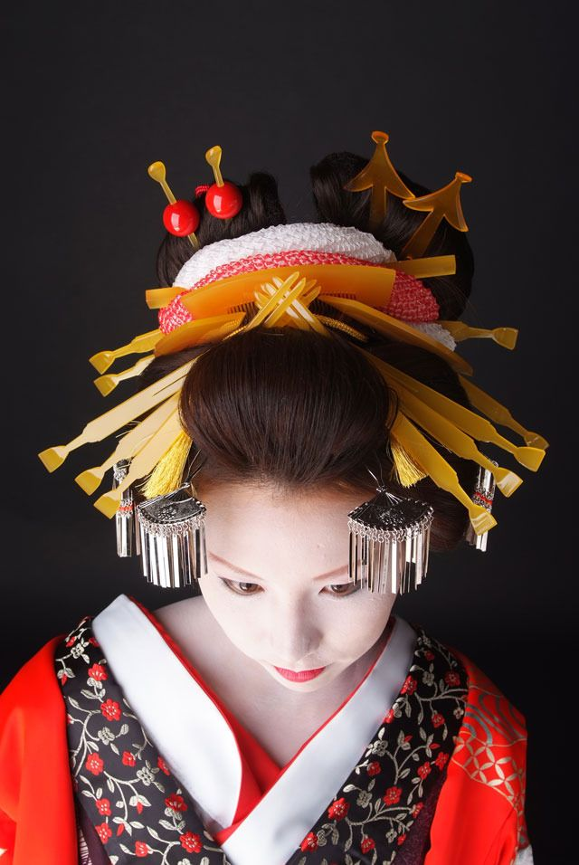 per prior pinner: kimono oiran: