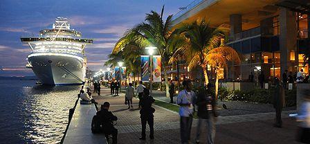 Promenade at Port of Spain - Trinidad and Tobago