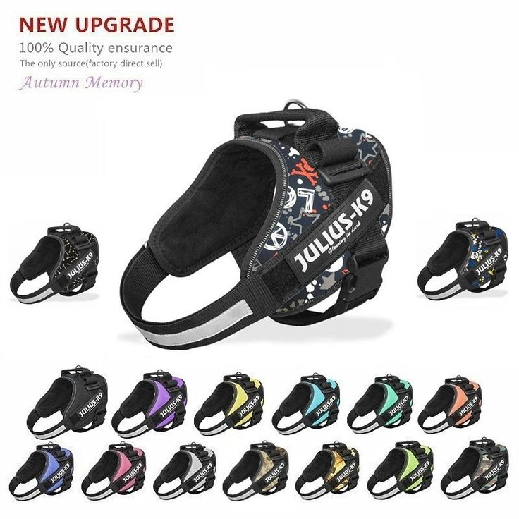 New Upgrade JULIUS K9 Dog Harness Vest For Small Large Grow Training Pet Safety Cat Waterproof Nylon Arneses Perro