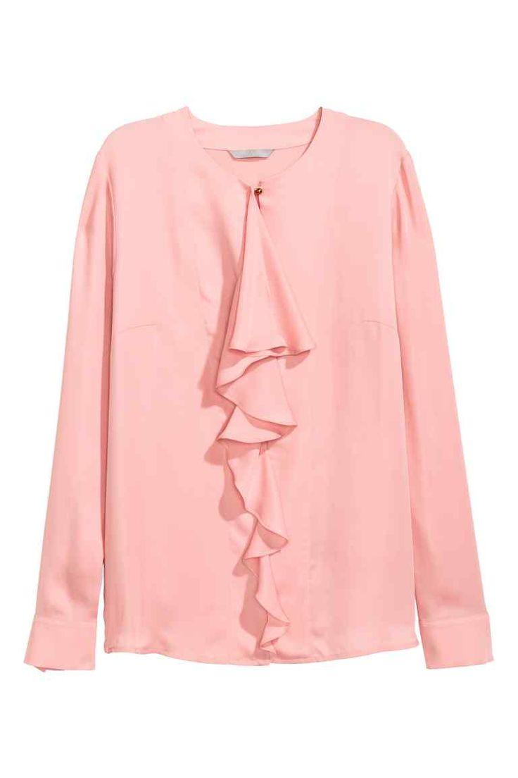 Блузка с оборками | H&M