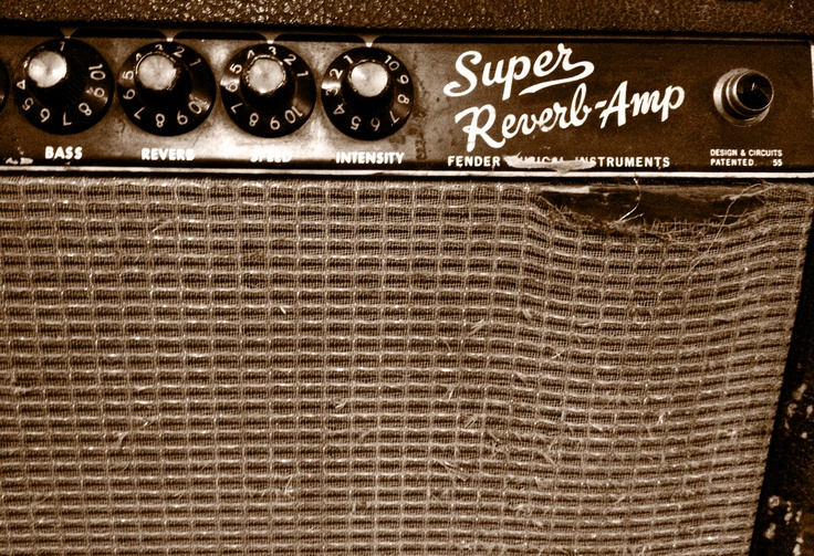 Would a collection of vintage gear be complete without a Super Reverb Amp?