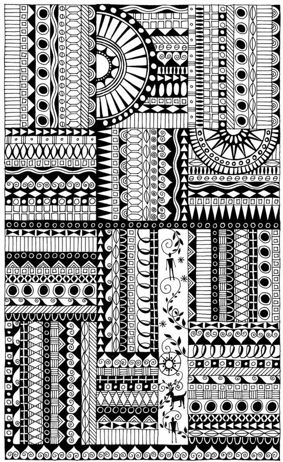 Zentangles are doodles & borders  #journal by kristin, inspired by Neopoprealism