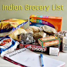 Indian monthly grocery items list for 2 persons in excel format !