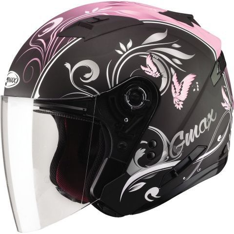 Gmax OF77 Open Face Helmet - Graphic Colors About the Gmax OF77 Open Face Helmet GMAX OF77 is based on their successful GM67. The helmet has everything you would want in an open face design. It's has