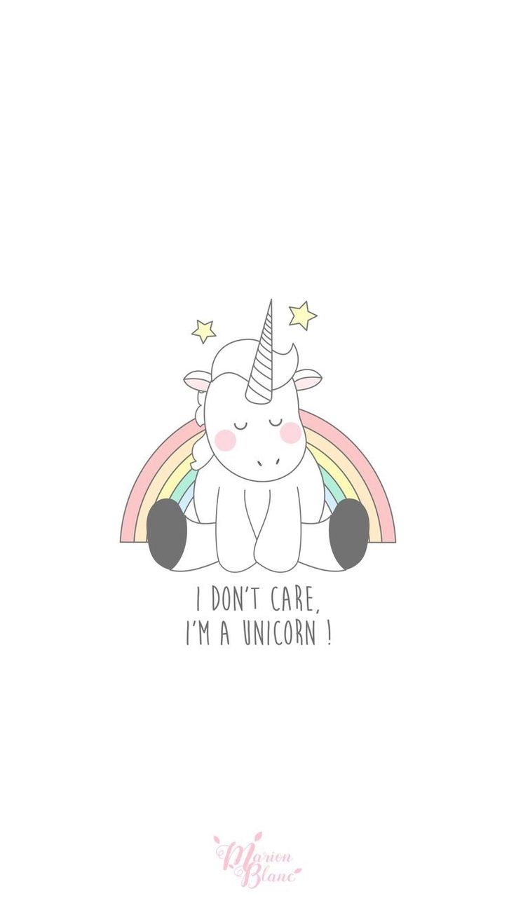 Unicorn being the unicorn
