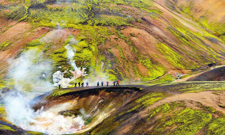 I fire dager gikk jeg langs fotturen Laugavegur på Island. Overnaturlig - eller egentlig heller undernaturlig - natur, uten at det i seg selv nødvendigvis gir noen god reportasje. Heldigvis føler jeg likevel at denne traff.