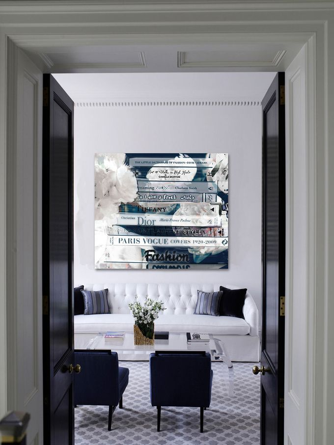 Romantica Night Canvas Art Print from Mobile First Look: Oliver Gal Art on Gilt
