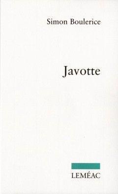 Javotte, Simon Boulerice