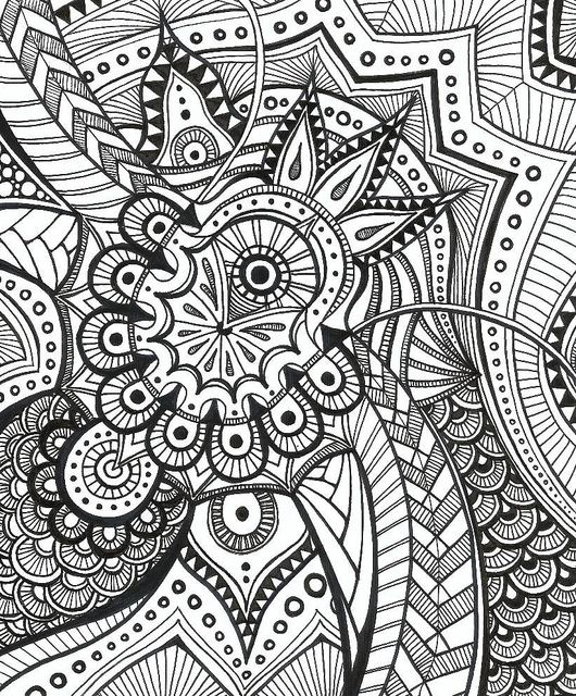 Amazing the things you can doodle when you're trying to concentrate. Fill up a jotter with notes and drawings!