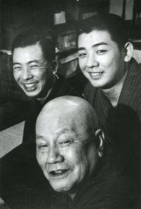 「時代(とき)を刻んだ貌(かお)」古今亭志ん生(1959年撮影)