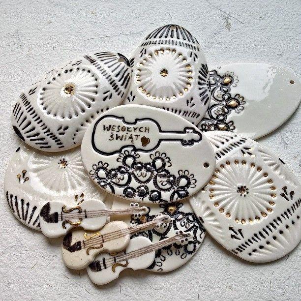 Easter porcelain decoration...