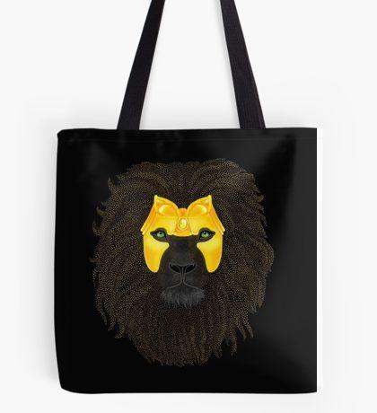 Golden Lion Tote Bag