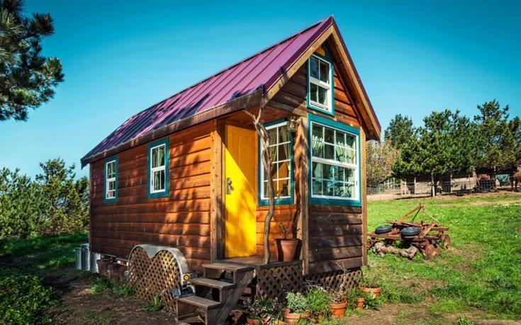 Novice carpenter Ella Jenkins built her dream house atop