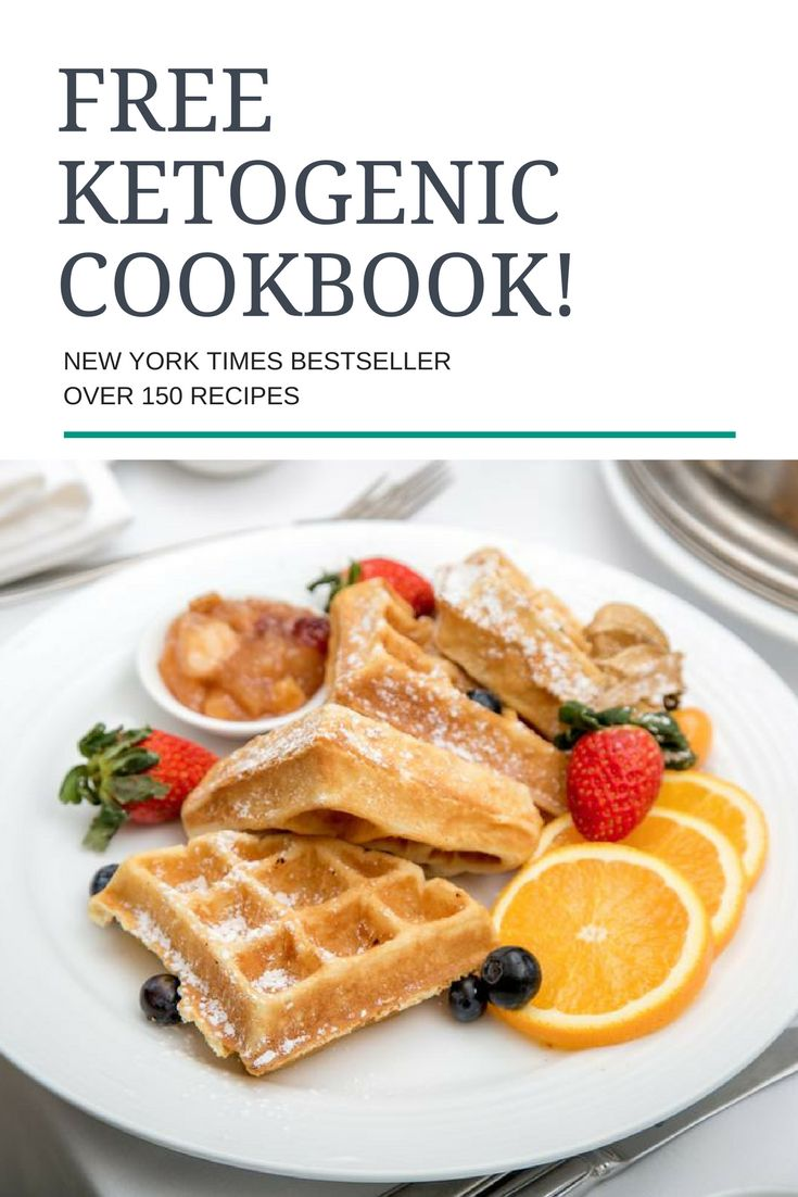 Grab a FREE copy of this New York Times bestselling Keto cookbook! Over 150 recipes