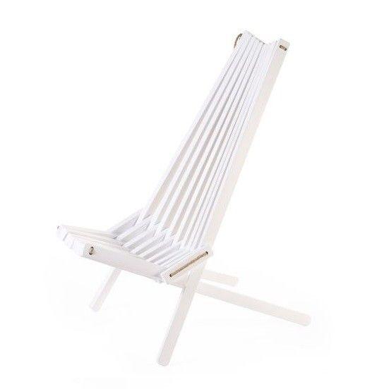 Leżak ekologiczny EcoChair, biała brzoza | Bonami