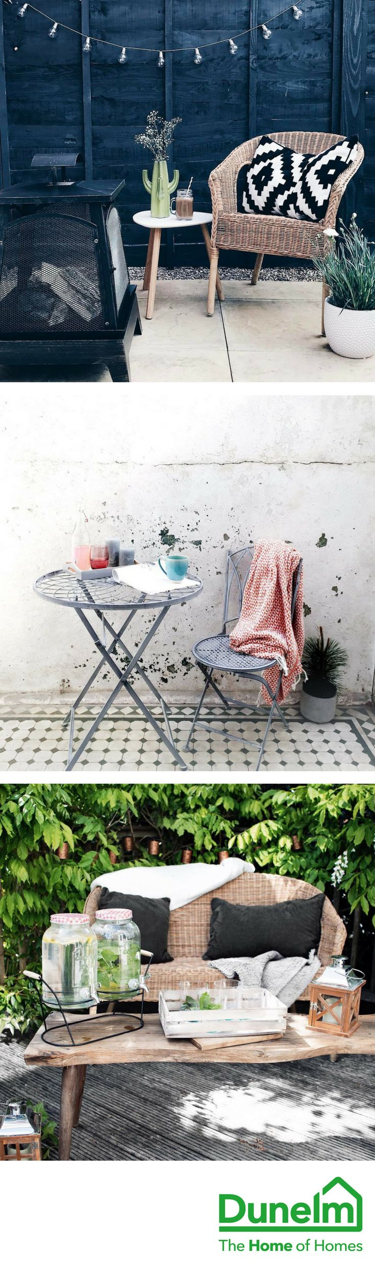 LIFE'S BETTER OUTDOORS | Maximise the fun this summer with our wide range of garden furniture and accessories. From two piece bistro sets and urban outdoor lighting, to outdoor dining sets and chimineas, you can make the most of your outdoor space, whatever its size!