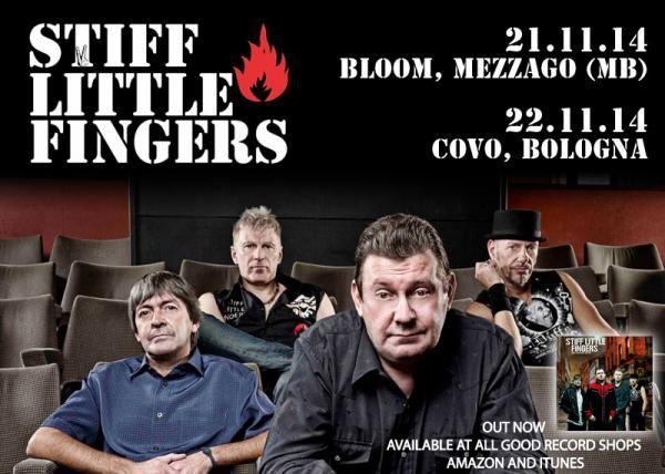 #Punk news:  STIFF LITTLE FINGERS in Italia per due date http://www.punkadeka.it/stiff-little-fingers-in-italia-per-due-date/ Gli Stiff Little Fingers si sono formati nel 1977 a Belfast, Irlanda. Dopo aver visto un concerto dei Clash a Belfast, Jake Burns (Voce e chitarra) – Henry Cluney (Chitarra) – Ali McMordie (Basso) – Gordon Blair (Batteria, poi sostituito da Brian Faloon), decidono di formare una band. Proba...