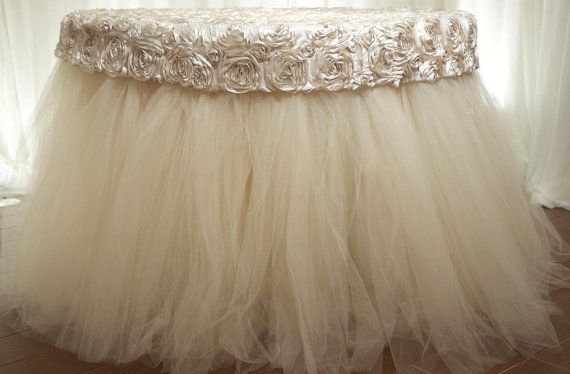 Rosette & Tulle Tablecloth                                                                                                                                                                                 More