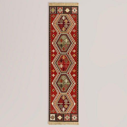 One of my favorite discoveries at WorldMarket.com: 2.5' x 10' Pradeep Wool Runner