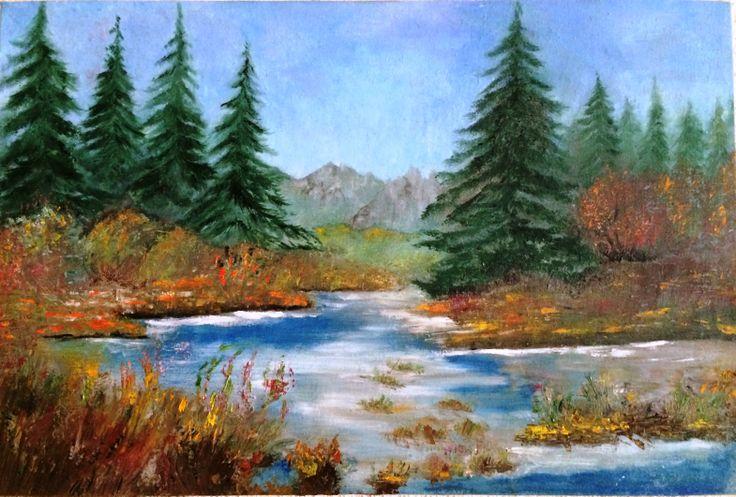 pictura in ulei 60/40 cm pret 45 euro
