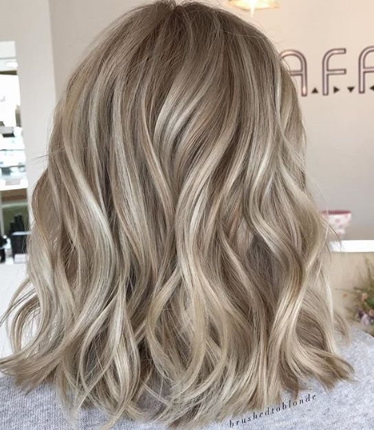 Dimensional blonde highlights and lowlights