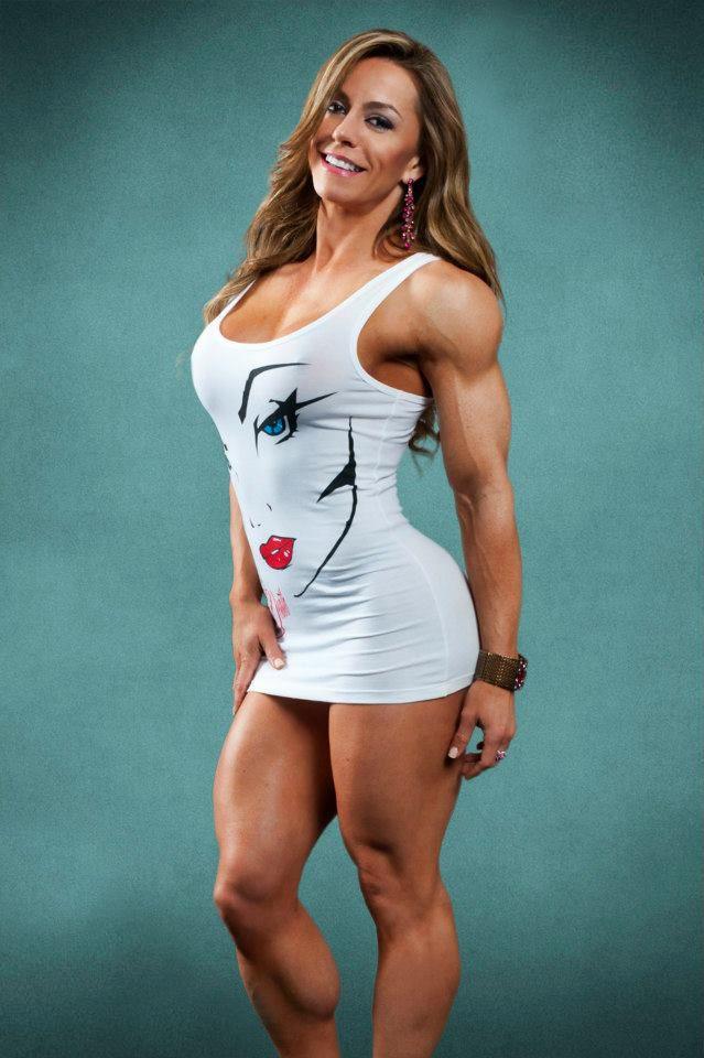 bodybuilderin juliana malacarne hat echt krasse beine