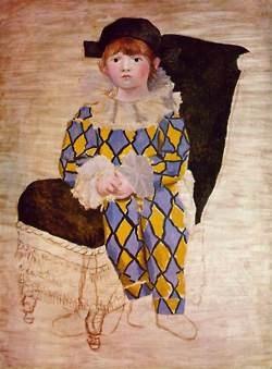 Picasso rose period