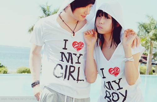Camisetas originales- cool t-shirts: Camisetas de pareja- Couple t-shirts